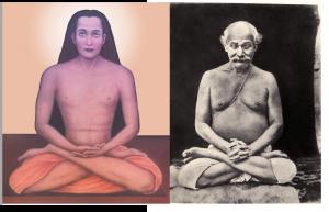 Mahamuni Babaji Maharaj and Shri Shyamacharan Lahiri